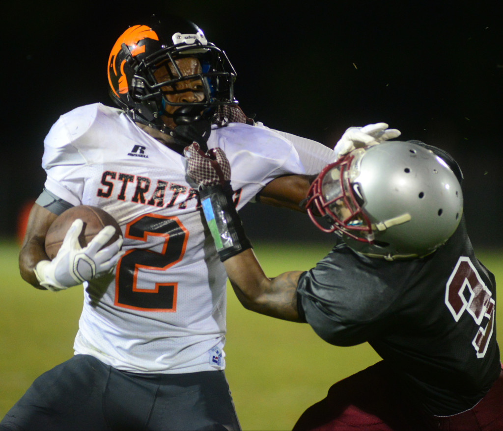 Stratford's Corey Simmons - Photos by Mike Strasinger