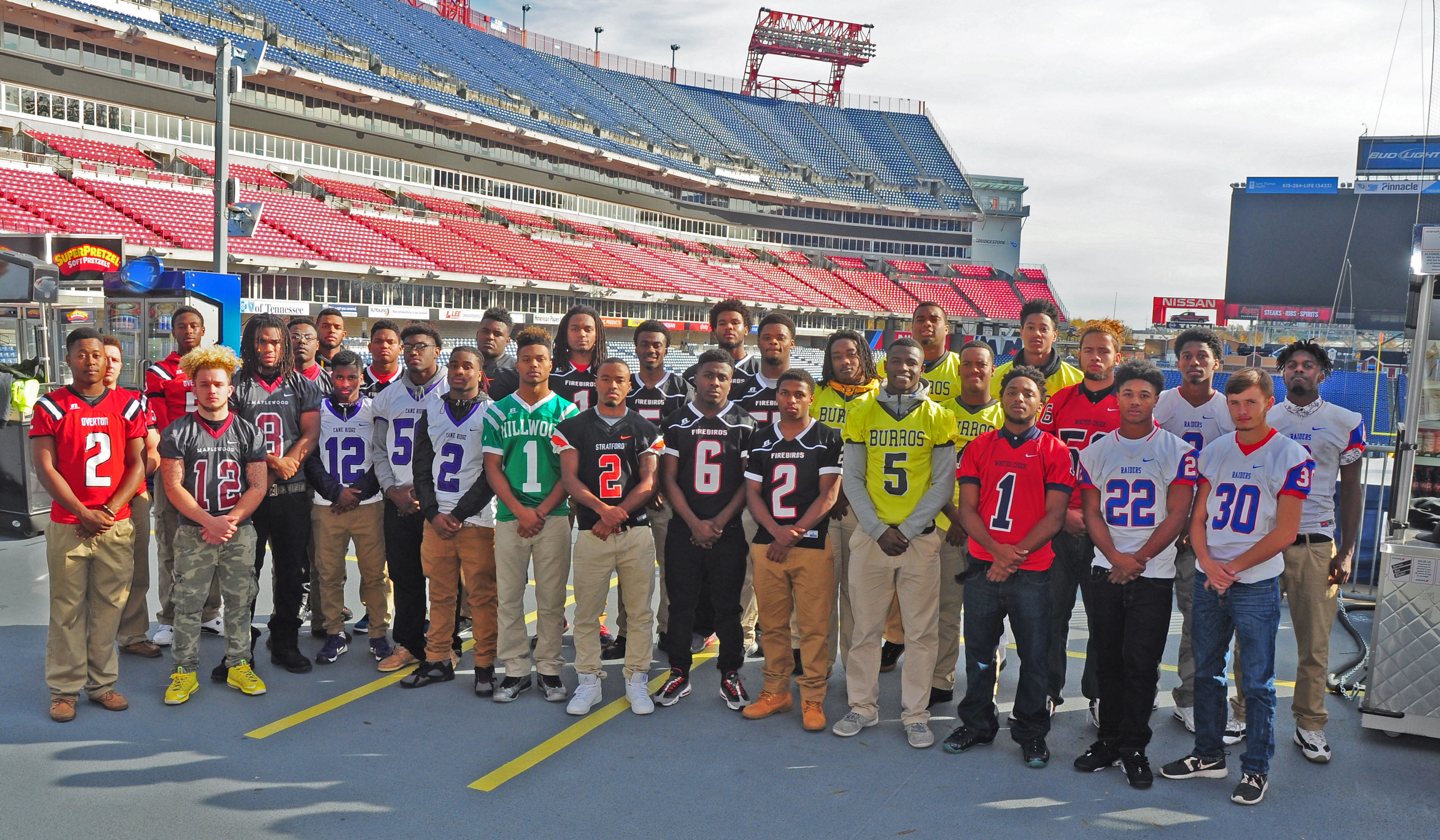 2015 Coaches All Metro Team  - Photo by Mike Strasinger