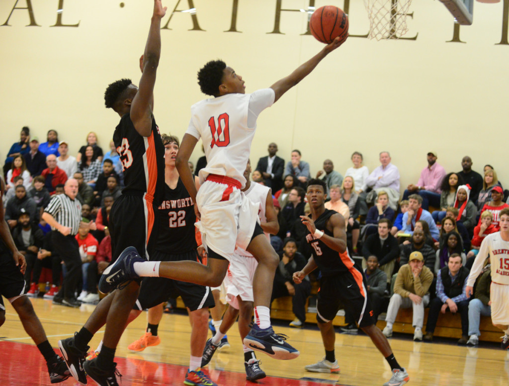 Darius Garland scores for BA. Photos by Mike Strasinger