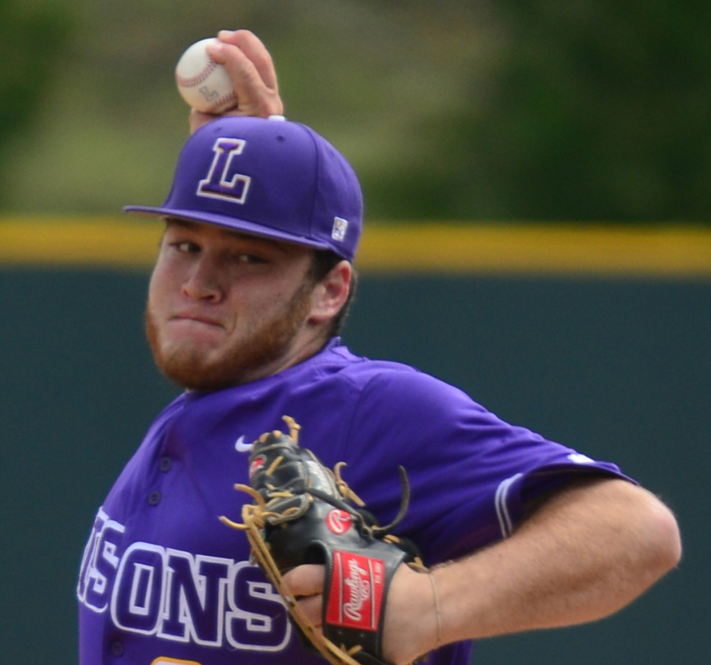 Lipscomb's jeffery Passantino  struck out a career high 10 batters - Photos by Mike Strasinger