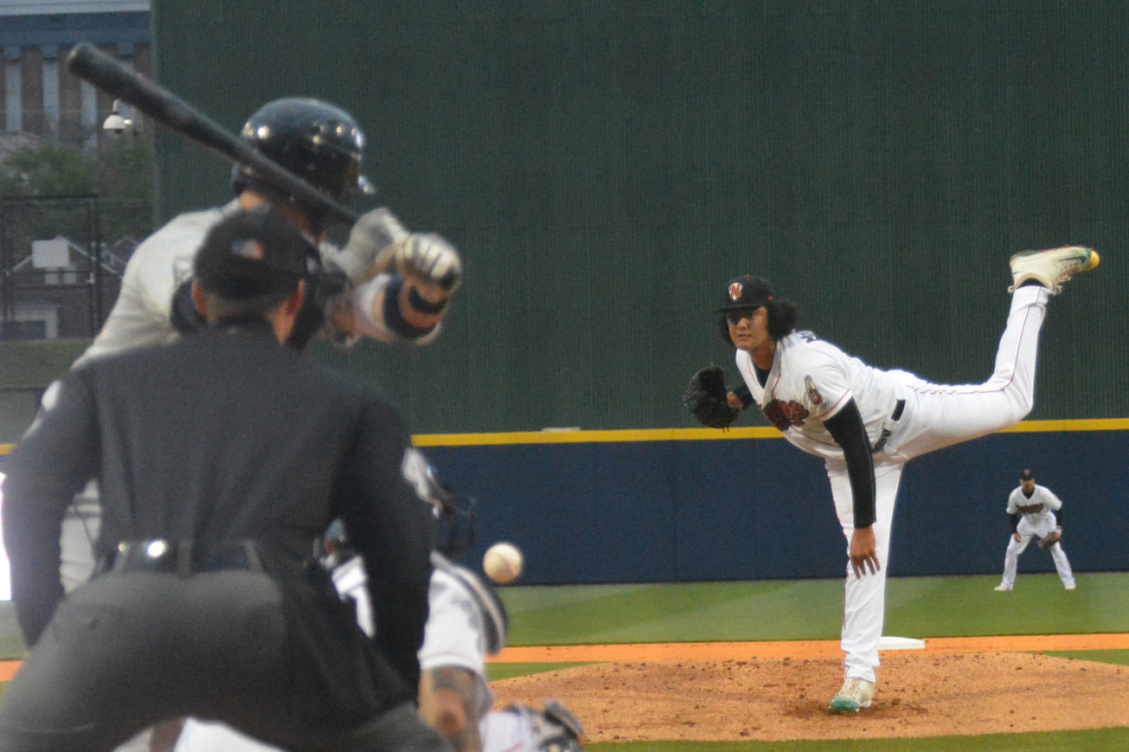 Sounds pitcher Sean Manaea - Photo by Toby Simpson