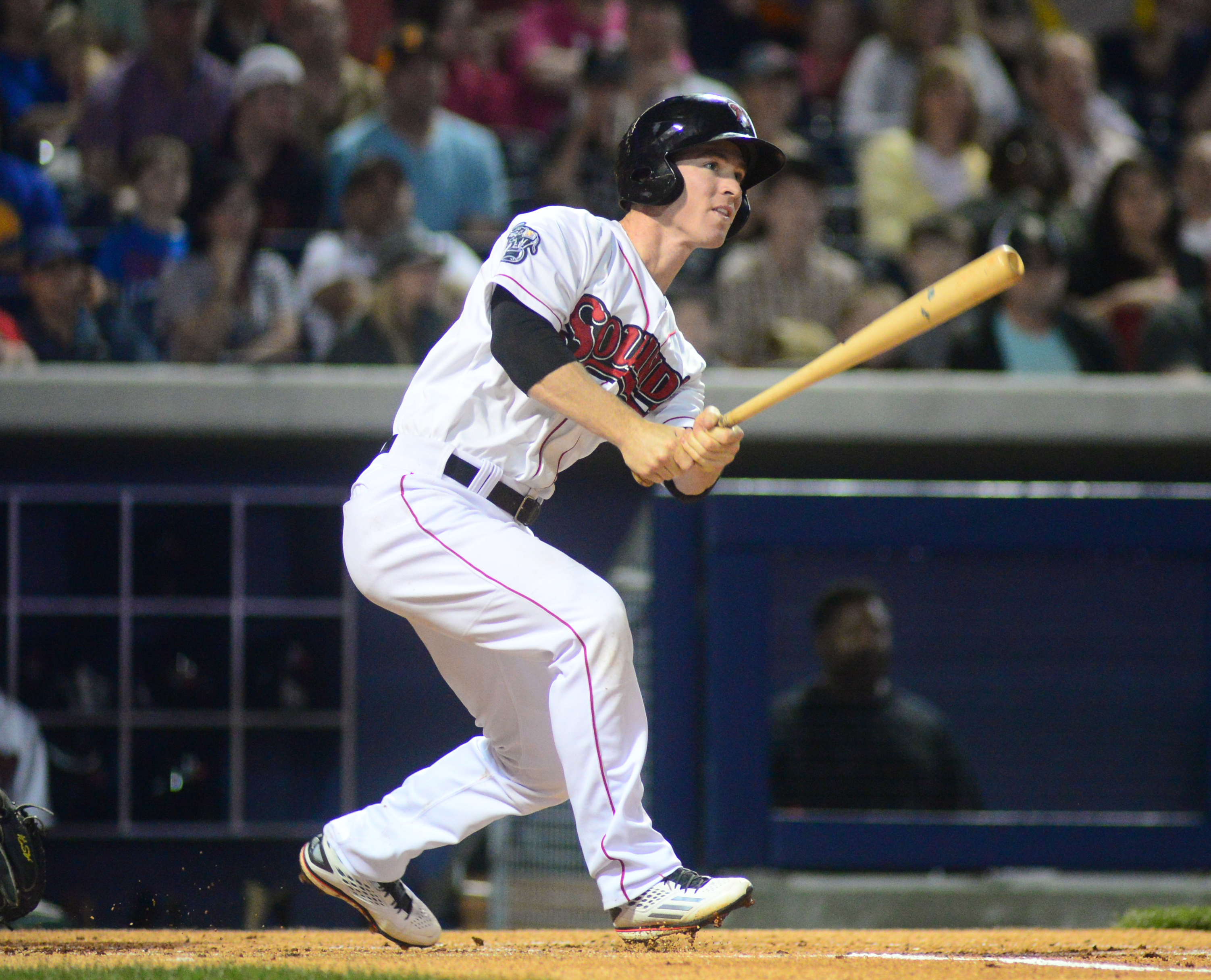Fan-favorite Joey Wendle Returns for the Nashville Sounds - Phot by Mike Strasinger