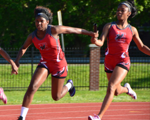 East Nashville Girls swept the relays - Photo by Toby Simpson