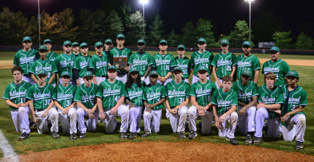District 12-AAA Runners-up Hillwood Hilltoppers