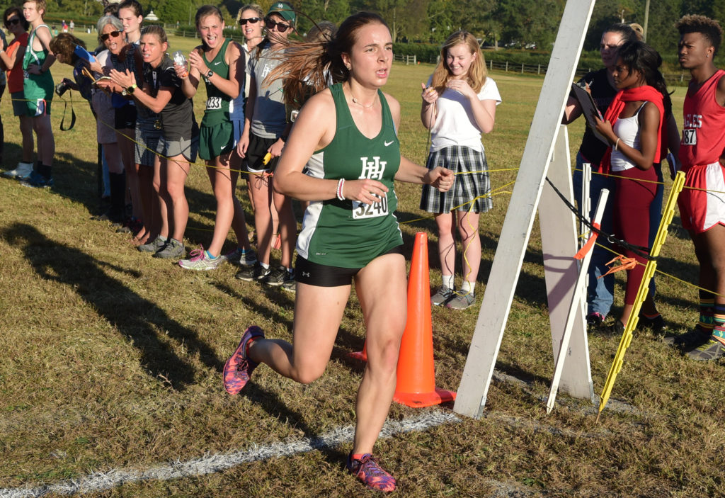 Harpeth Hall's Lizzy Singleton - photos by Mike Strasinger