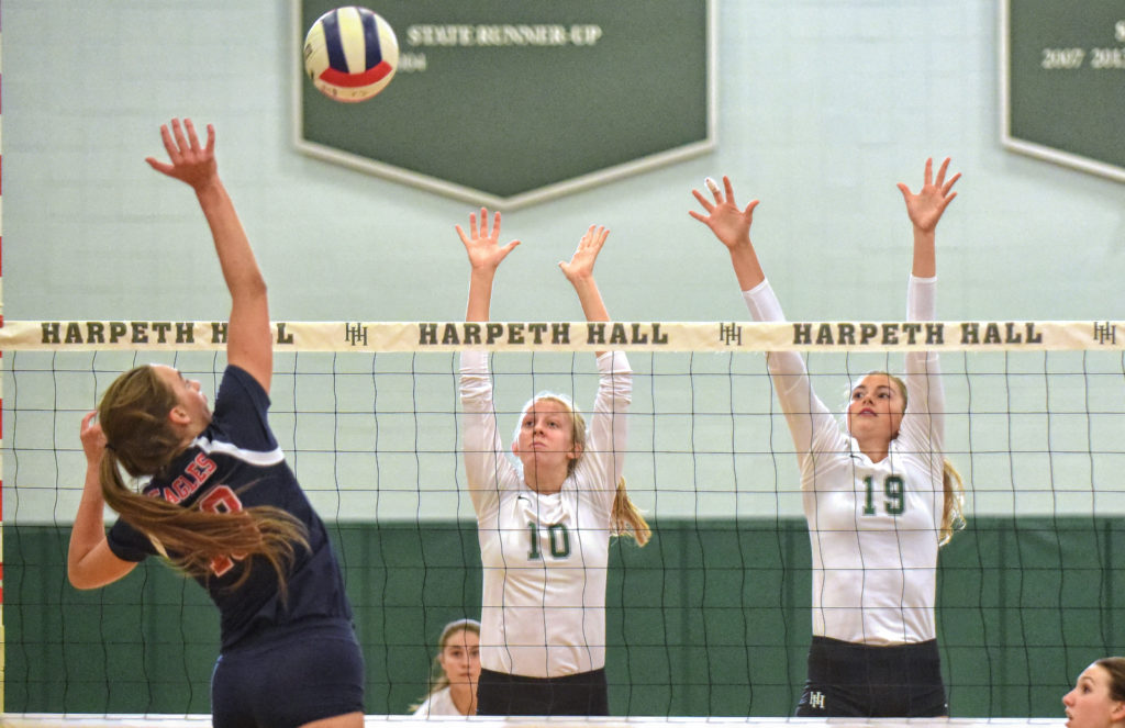 Harpeth Hall Volleyball - File Photo by Mike Strasinger