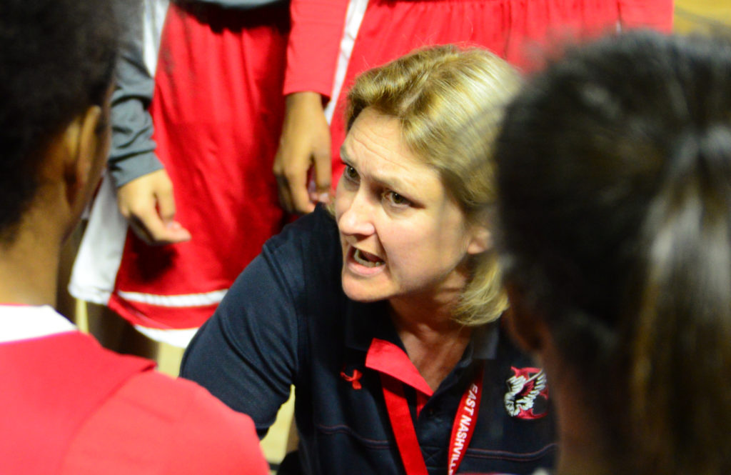 "East Nashville's Lois ""Missy"" Donaldson - Female Coach of the Year , District 5 - Photo by Mike Strasinger"